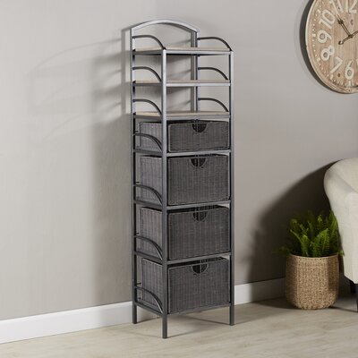Chatterton 4-Drawer Storage Tower