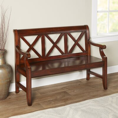 Polley Bench Finish: Cherry