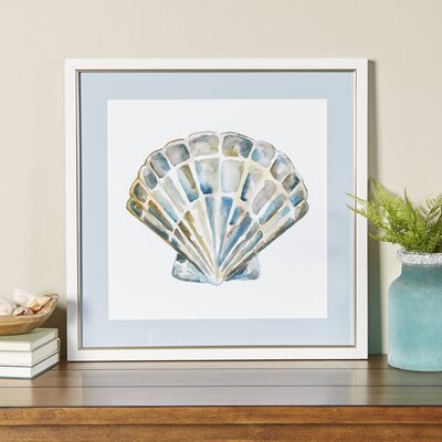 Shore Memento Framed Graphic Art