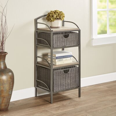 Chatterton 2-Drawer Storage Tower