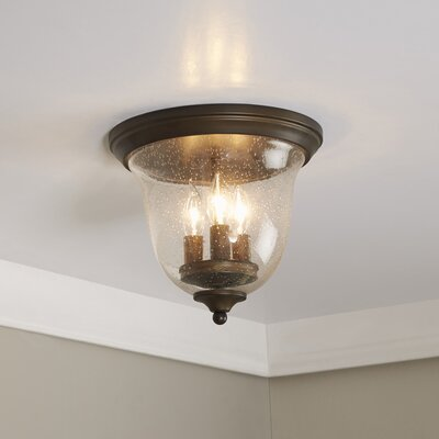 Cheever Curved Flush Mount
