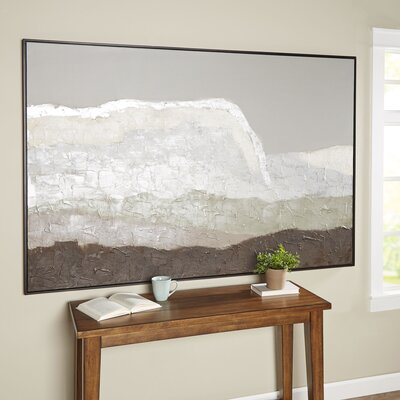 Muted Landscape Framed Canvas