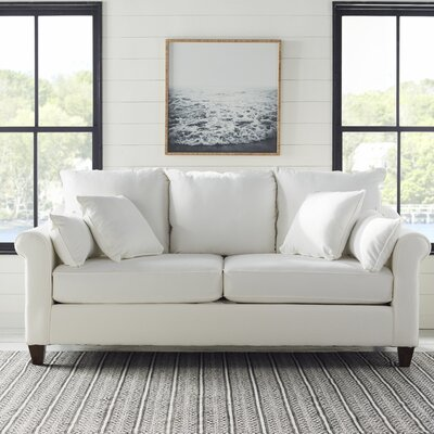 Brooke Sofa Upholstery: Classic Bleach White