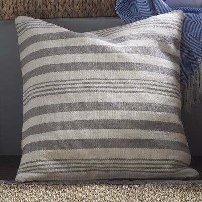 Edie Wool Pillow Cover Color: Pewter