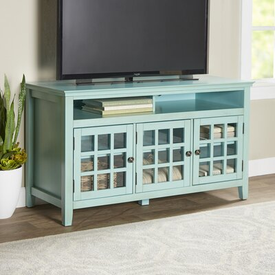 Weller TV Stand Finish: Turquoise