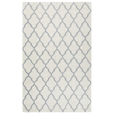 Kingsley Parchment & Light Gray Rug Rug Size: 5 x 8