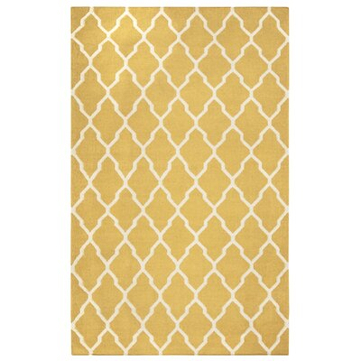 Kingsley Canary Rug Rug Size: Rectangle 5 x 8