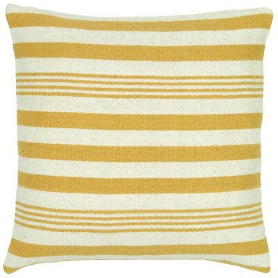 Edie Wool Pillow Cover Color: Canary
