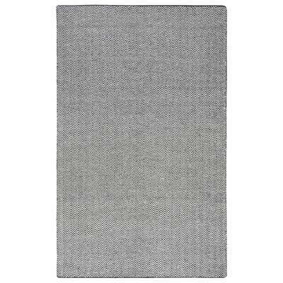 Ava Black Rug Rug Size: Rectangle 5 x 8