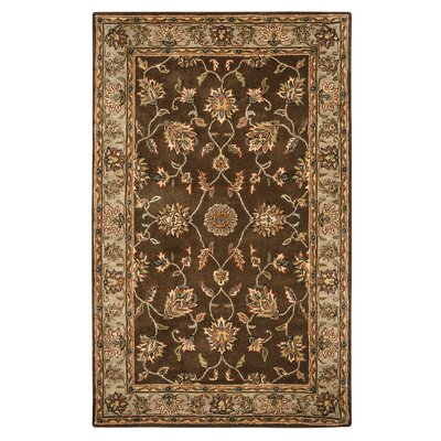 Riley Mocha Rug Rug Size: Rectangle 5 x 8