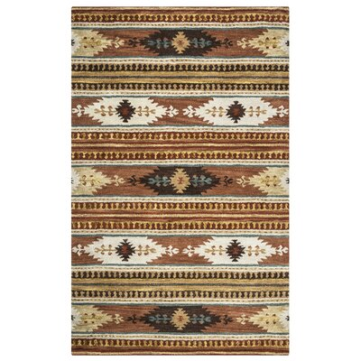Magda Hand-Woven Wool Area Rug Rug Size: Rectangle 5 x 8