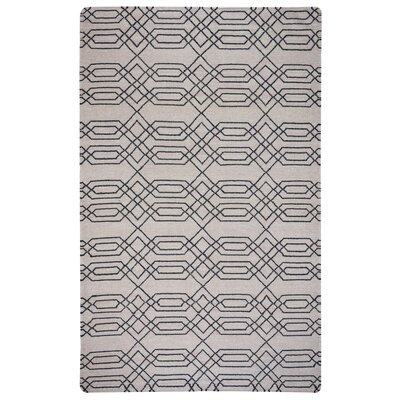 Libby Natural & Chocolate Rug Rug Size: 5 x 8