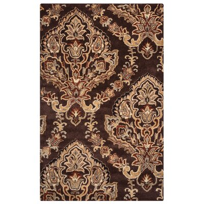 Leona Chocolate Rug Rug Size: Rectangle 5 x 8