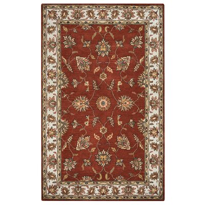 Riley Rust Rug Rug Size: 5' x 8'