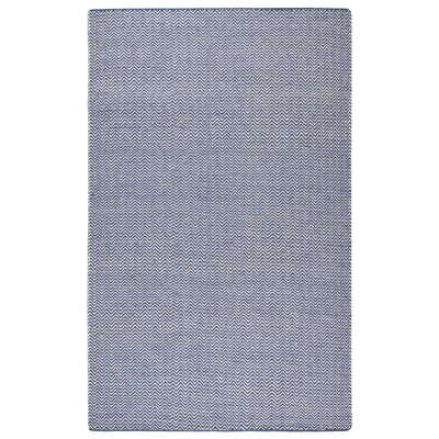 Ava Blue Rug Rug Size: 5 x 8