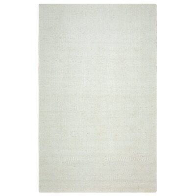 Ava Parchment Solid Rug Rug Size: Rectangle 5 x 8
