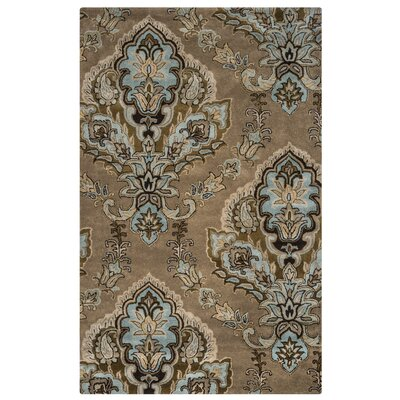 Leona Latte Rug Rug Size: Rectangle 5 x 8