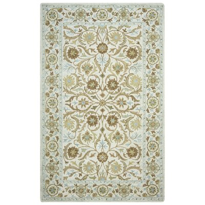 Suzanne Tufted Wool Area Rug Rug Size: Rectangle 5 x 8