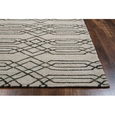 Libby Natural & Chocolate Rug Rug Size: Rectangle 8 x 10