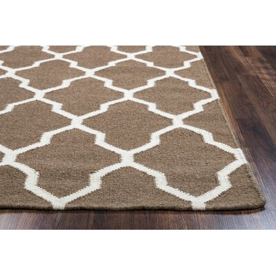 Kingsley Chocolate Rug Rug Size: 8 x 10