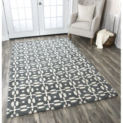 Orla Handwoven Wool Area Rug Rug Size: Rectangle 8 x 10