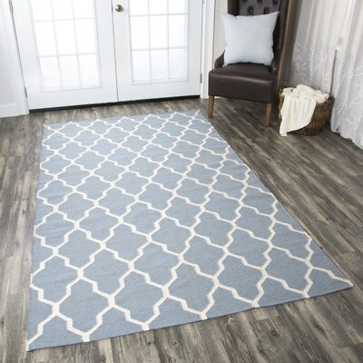 Kingsley Sky Rug Rug Size: Rectangle 3 x 5