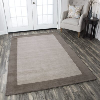 Abigail Mocha Rug Rug Size: Rectangle 2 x 3