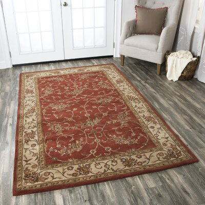 Wesley Tufted Wool Area Rug Rug Size: Rectangle 8 x 10
