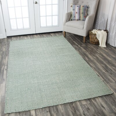 Ava Leaf Rug Rug Size: Rectangle 9 x 12
