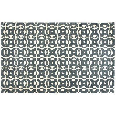 Orla Handwoven Wool Area Rug Rug Size: Rectangle 5 x 8