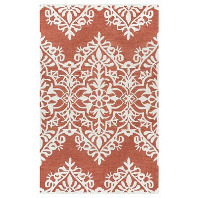 Freeman Rust Rug Size: Rectangle 9 x 12