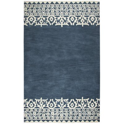 Ezra Navy Rug Rug Size: Rectangle 26 x 8