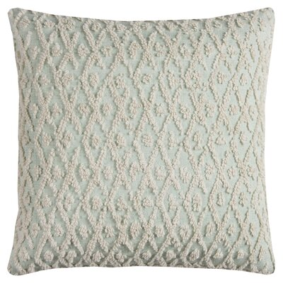 Diamond 100% Cotton Pillow Cover Color: Green