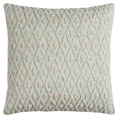 Diamond 100% Cotton Pillow Cover Color: Green