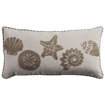 Seashell Lumbar Pillow Cover
