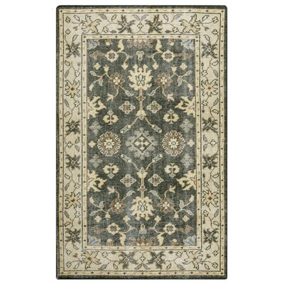 Jarvis Charcoal/Natural Rug Rug Size: 5 x 8