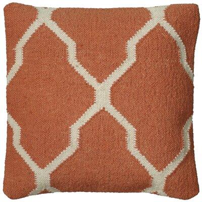 Becca Decorative Pillow Cover Color: Tangerine