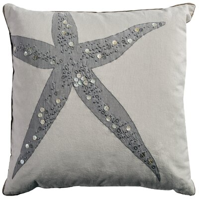Neutral Starfish Pillow Cover