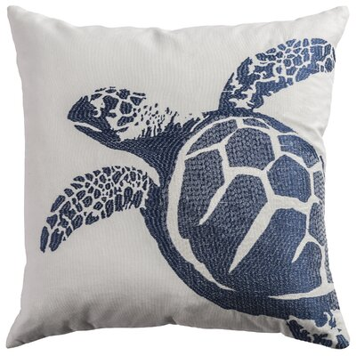 Deep Sea Turtle Pillow Cover