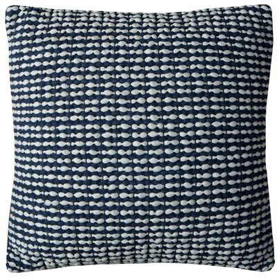 Irene Pillow Cover Color: Navy