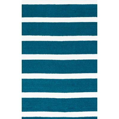 Harney Dark Blue Indoor/Outdoor Rug Size: 36 x 56