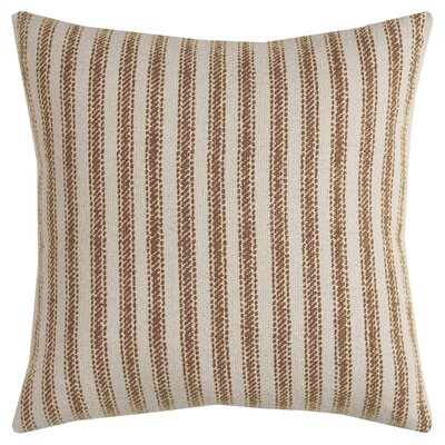 Connee Pillow Cover Color: Beige