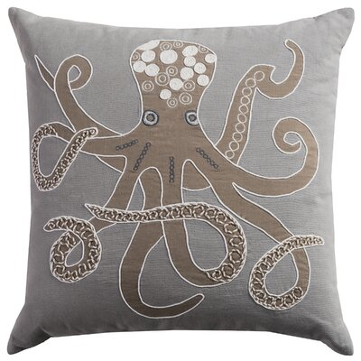 Deep Sea Octopus Pillow Cover