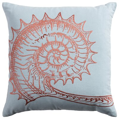 Deep Sea Seashell Pillow Cover