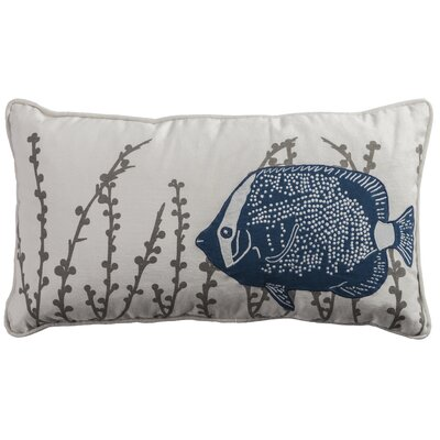 Deep Sea Fish Lumbar Pillow Cover