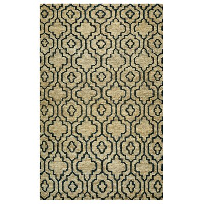 Federica Hand-Woven Natural Area Rug Size: Rectangle 9 x 12