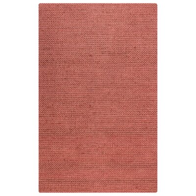 Waverley Hand-Woven Red Area Rug Size: Rectangle 3 x 5