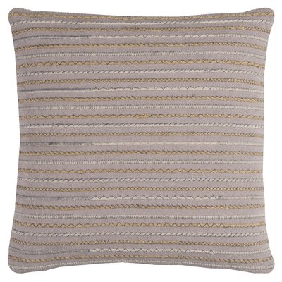 Folsom Pillow Cover Color: Beige