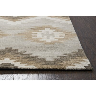 Brandon Hand Tufted Brown Area Rug