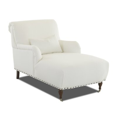 Shephard Chaise Upholstery: Spinnsol Natural